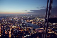 Shard night view Stock Image