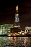 The Shard and Office buildings in London Royalty Free Stock Images