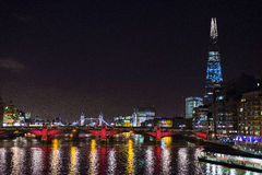 The Shard and Office buildings in London Stock Photos