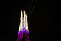The Shard opening, London Royalty Free Stock Photography