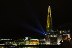 The Shard opening, London Royalty Free Stock Photo