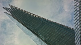 The Shard in perspective stock video