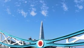 The Shard seen from Tower Bridge Stock Photo