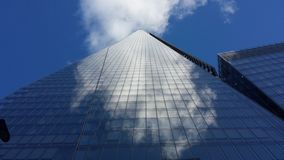 Shard and Sky London Royalty Free Stock Image