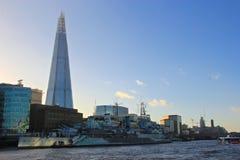 The Shard Skyscraper in London Stock Photo