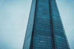 The Shard Skyscraper in London on Overcast Day Royalty Free Stock Images