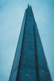 The Shard Skyscraper in London on Overcast Day Royalty Free Stock Image