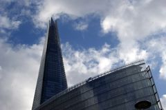 The Shard Skyscraper in London royalty free stock photography