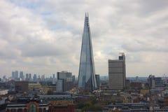 Shard skyscraper in London Stock Photos
