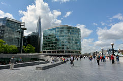 The Shard skyscraper tower in London - UK Royalty Free Stock Photo