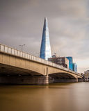 The Shard at Sunset Royalty Free Stock Photo