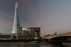 The Shard. The tallest building in london - the shard Stock Image