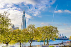 The Shard and Thames river, London Stock Photography