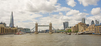 The Shard, Tower Bridge & The City Stock Photo