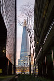 The Shard towering over London Stock Photography