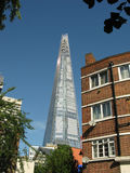 The Shard from Vauxhall Stock Image