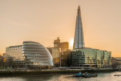 The Shard view Royalty Free Stock Images
