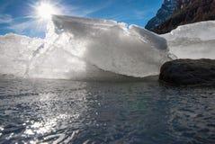Shards πάγου στοκ φωτογραφίες με δικαίωμα ελεύθερης χρήσης