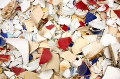 Shards bring happiness Royalty Free Stock Image