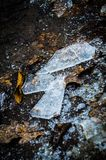 Shards of ice Stock Image