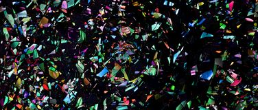 Shattered stained glass Royalty Free Stock Photos
