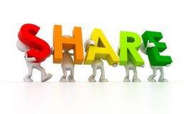 Share Royalty Free Stock Photo