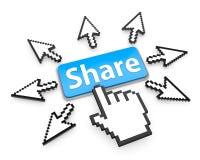 share vektor illustrationer