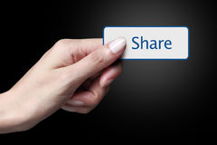 Share Royalty Free Stock Photography