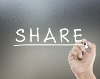 Share concept Stock Photography