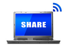 Share Concept Royalty Free Stock Photo
