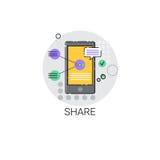 Share Data Cloud Computing Database Storage Services Web Icon Stock Photos