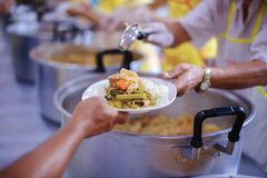 Share Food Helping Homeless People in Society on Earth: The Concept of Hunger Hunger stock photos