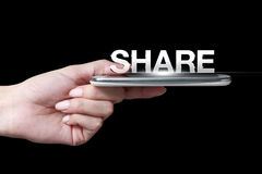 Share icon Stock Image