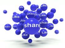 Share / Like Stock Photography