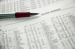 Share Market Stock Images