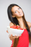 Share my diet. Royalty Free Stock Image