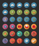 Share and Network Icons royalty free illustration