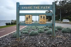 Share the path royalty free stock image