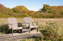 share print email Stock photo : Adirondack Chairs Royalty Free Stock Photography