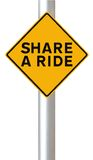 Share A Ride Royalty Free Stock Images