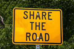 Share the Road Stock Photos
