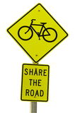 Share the Road Sign Stock Photos
