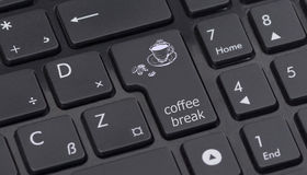 Share sign on keyboard Stock Image