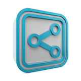 Share symbol 3d Stock Images