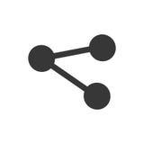 Share symbol social media icon Stock Photos