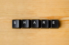 Share word Stock Images