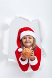 Share your goods with your loved ones this holiday season Royalty Free Stock Photography