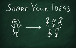 Free Share Your Ideas Stock Photos - 50732633