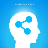 Share your ideas Stock Images