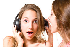 Share your music!!!! Stock Photo